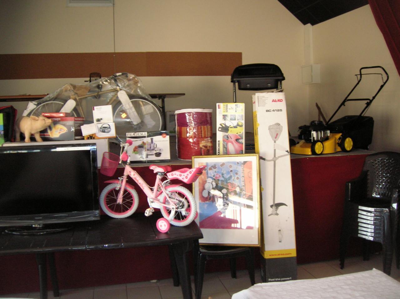 Un joli petit vélo rose